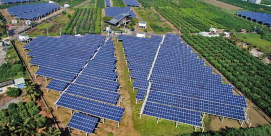 配合國家能源政策,共同打造太陽能光電示範區