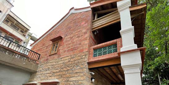歷史建築「淡水木下靜涯」舊居修復紀實